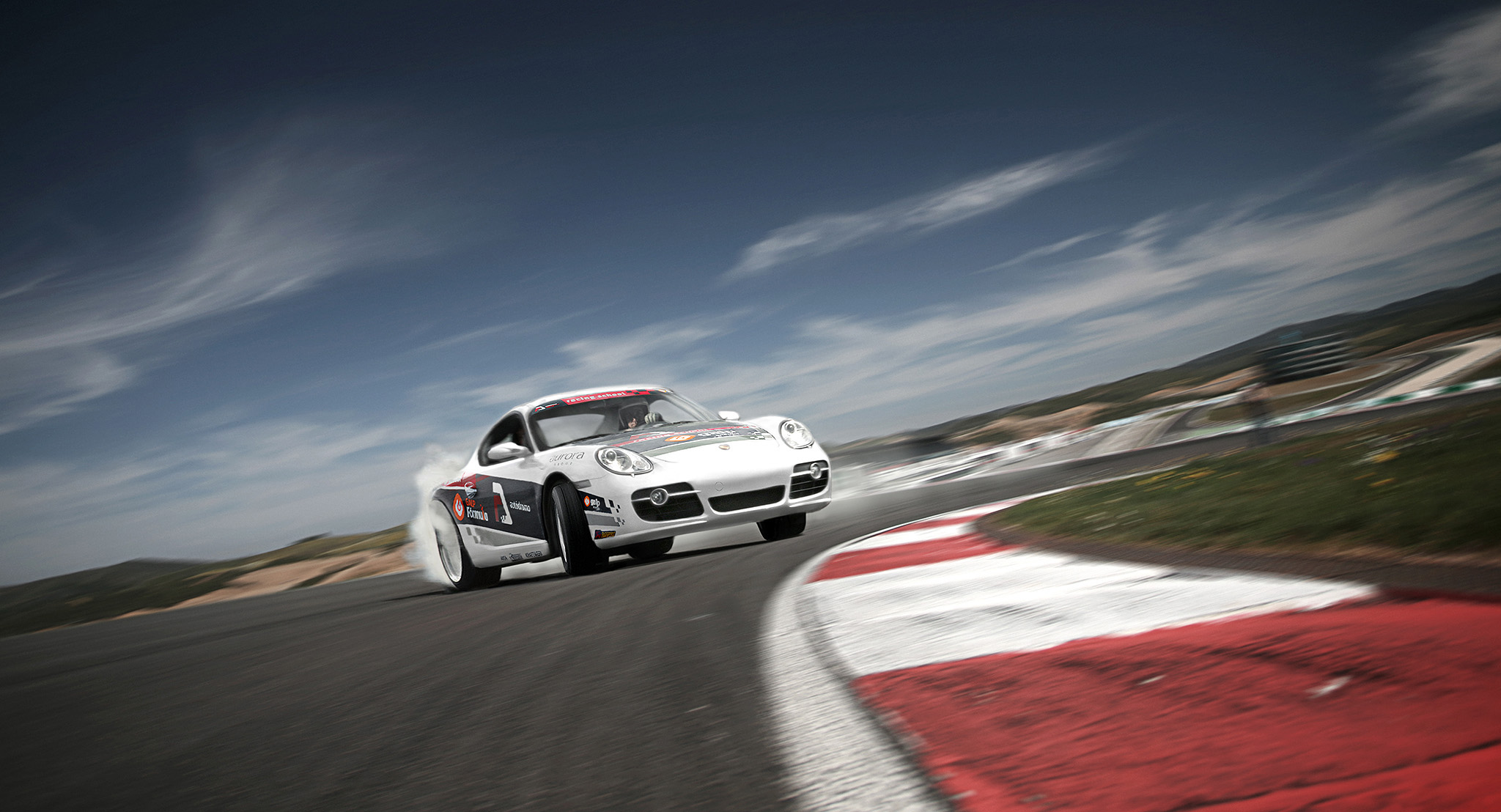 Images for a brochure, Autodromo International Algarve, Portugal